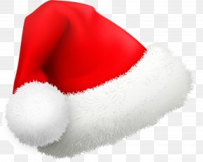 Red Cartoon Christmas Hat - Santa Claus Christmas Hat Cartoon PNG
