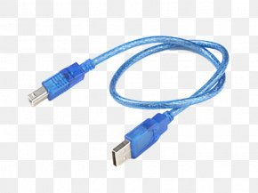 Cable - Arduino Electrical Cable USB Microcontroller Data Cable PNG