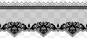 Transparent Lace Decoration Image - Lace Clip Art PNG