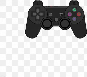Controller - PlayStation 4 Xbox 360 Controller PlayStation 3 Game Controllers Clip Art PNG