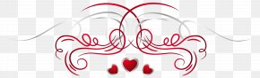 Heart Decoration Transparent Clip Art Image - Heart Clip Art PNG