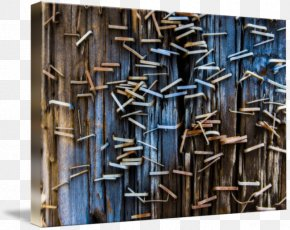 Utility Pole - Gallery Wrap Canvas Steel Art Printmaking PNG