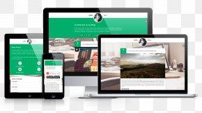 Web Design - Responsive Web Design Computer Software Template PNG