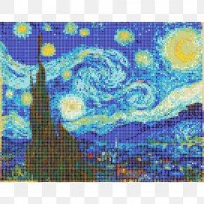 Starry Night - The Starry Night Olive Trees Van Gogh Self-portrait Van Gogh Museum Painting PNG