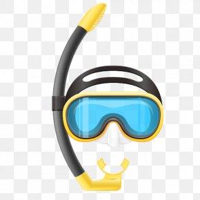 Swimming Tools - Underwater Diving Scuba Diving Diving Mask Clip Art PNG