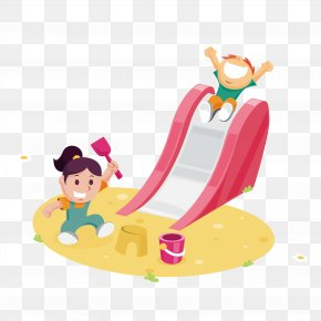Kids Play Sand - Child Download Euclidean Vector Icon PNG