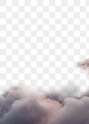 Dark Clouds - White Sky Computer Pattern PNG