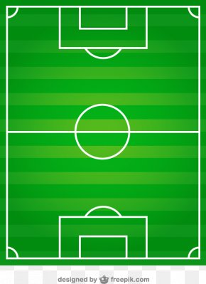 A Plan View Of Soccer Field Vector Material Downloaded, - Football Pitch Athletics Field Stadium The UEFA European Football Championship PNG