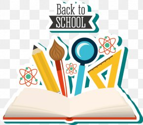 School Back To School Elements - Student School Education Clip Art PNG