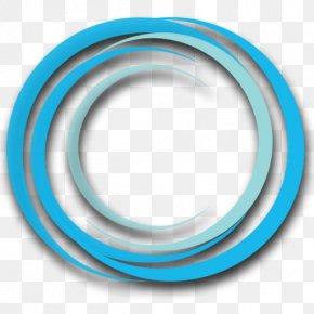Circle - Circumscribed Circle Blue Subtractive Color PNG