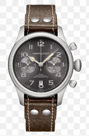 Watch - Hamilton Watch Company Chronograph Automatic Watch Hamilton Khaki Aviation Pilot Auto PNG