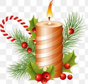 Christmas Candle Image - Candle Christmas Clip Art PNG