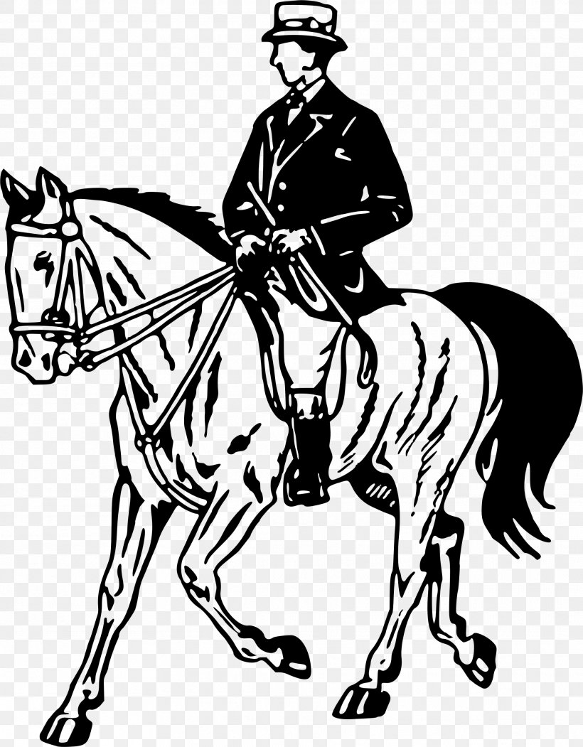 Horse Pony Equestrian Stallion Clip Art Png 1871x2399px Horse Bit Black And White Bridle Clothing Download