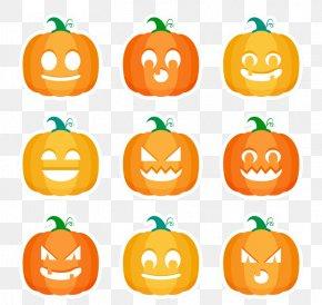 Halloween Pumpkins - Jack-o'-lantern Calabaza Pumpkin Halloween Thanksgiving PNG