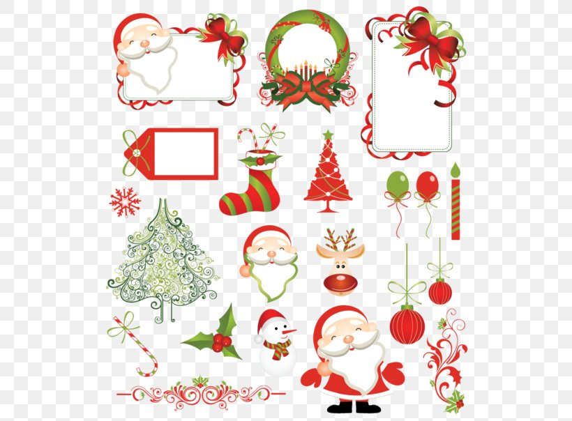 Christmas Tree Santa Claus Pattern, PNG, 550x604px, Christmas Tree, Branch, Christmas, Christmas Decoration, Christmas Ornament Download Free