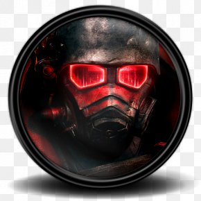 Fallout New Vegas 3 - Gas Mask Personal Protective Equipment PNG