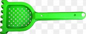 Green Children's Beach Shovel - Beach Shovel Child Clip Art PNG