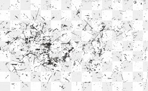 Black And White Scratches - Black And White PNG