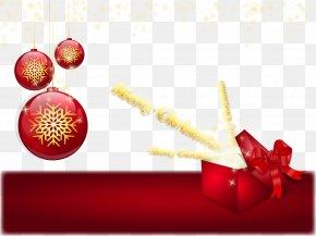 Vector Snowflake Christmas Gift - Christmas Gift Snowflake PNG