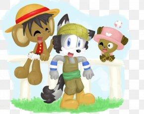 Luffy Standing - DeviantArt Artist Figurine PNG