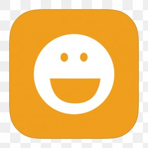 MetroUI Apps YM Alt - Emoticon Smiley Yellow Orange PNG