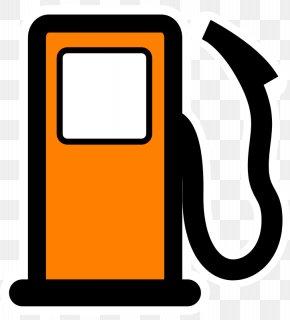 Orange Cartoon Cheer Me - Filling Station Fuel Dispenser Gasoline Pump Clip Art PNG