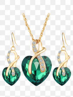 Necklace - Earring Necklace Jewellery Charms & Pendants Gold PNG