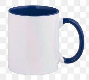 Mug - Mug Coffee Cup Cobalt Blue Tableware PNG