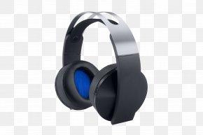 Playstation Wireless Headset Gamestop - PlayStation 4 Xbox 360 Wireless Headset Sony PlayStation Platinum Headset Headphones PNG