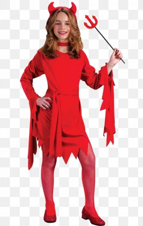 Halloween Costume Kids - Halloween Costume Child Devil PNG