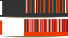Colorful Barcode - Web Banner Barcode PNG