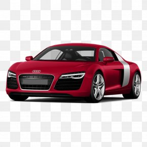Red,side,car,Audi R8 - 2014 Audi R8 Car Audi Quattro V10 Engine PNG