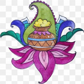 Thanksgiving Flowers And Jars - Regency Kanchipuram By GRT Hotels Thai Pongal Thanksgiving PNG