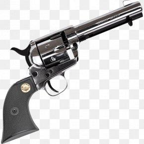 Western Pistol - Revolver Trigger Firearm Blank-firing Adaptor PNG