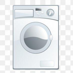 Automatic Washing Machine - Washing Machine Clothes Dryer Laundry Electronics PNG