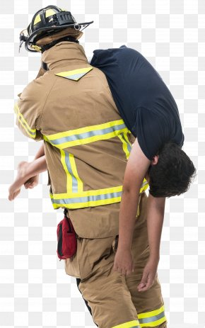 Firefighters Rescue - Firefighter Rescue Fireman's Carry Firefighting Fire Engine PNG