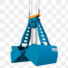Nemag Bulk Cargo Crane Scrap Bulk Material Handling PNG
