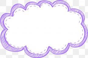 Purple Frame Cliparts - Cloud Picture Frames Free Content Clip Art PNG