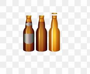 Cartoon Beer - Beer Bottle Oktoberfest Clip Art PNG
