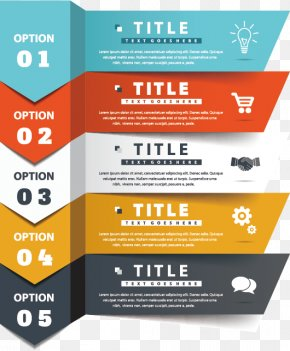 Vector Painted Banners - Infographic PNG