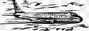 Vector Aircraft Material - Airplane Air Transportation Aircraft Air Travel Flight PNG