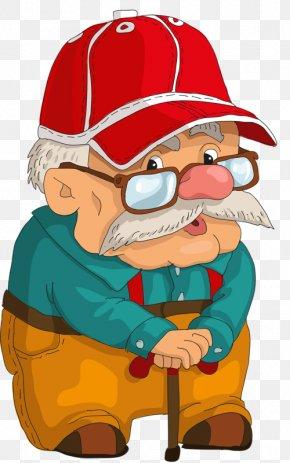 White-bearded Old Man Cartoon Animation Ala Lei Hat - Edward Newgate Animation Drawing PNG