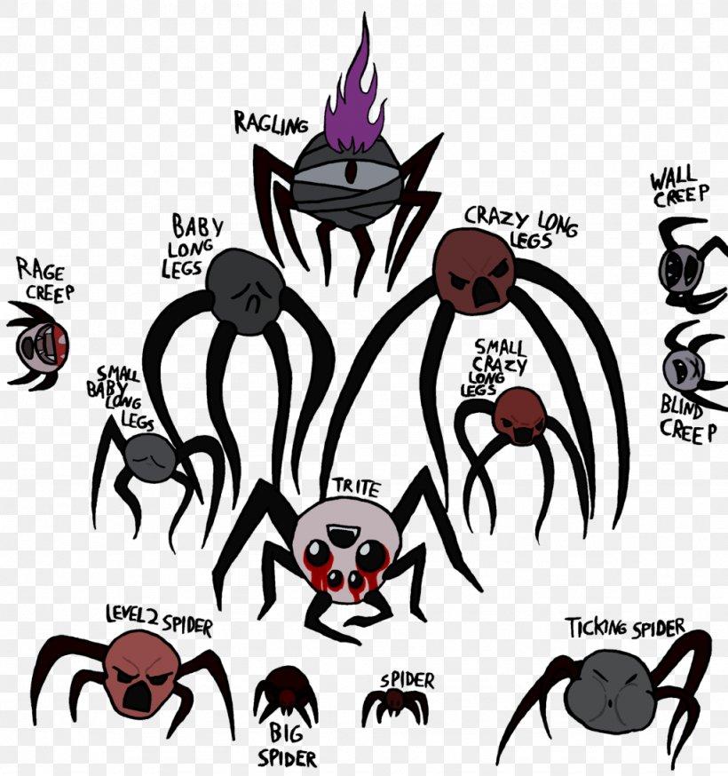 The Binding Of Isaac Spider Creep Desktop Wallpaper Png