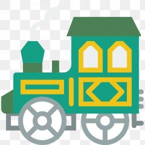 Train - Train Rail Transport Locomotive Icon PNG