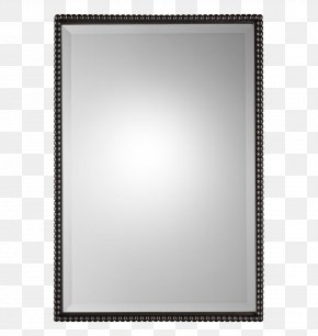Mirror - Picture Frame Rectangle Mirror PNG