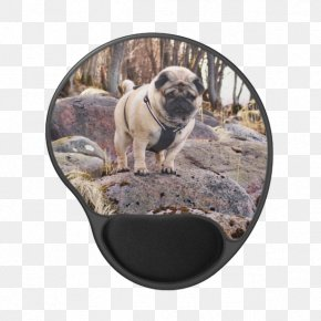 Computer Mouse - Pug Dog Breed Computer Mouse Mouse Mats Handbag PNG