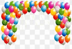 Balon - Balloon Arch Clip Art PNG