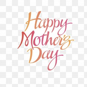 Mother 's Day Happy Gradient English Word - Mothers Day Plainfield Public Library Central Library Woman Clip Art PNG