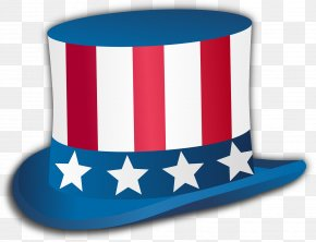 Independence Day - Independence Day United States Hat Uncle Sam Clip Art PNG