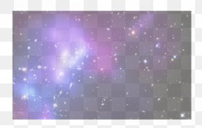 Cool Cosmic Beam Spot - Violet Computer Pattern PNG